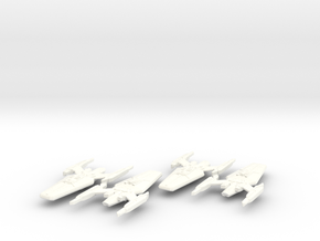 Lowell Class (Upgrade) in White Strong & Flexible Polished
