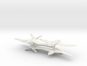 1/200 Grumman Ocelot (x4) in White Natural Versatile Plastic