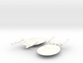 USS Victoria in White Processed Versatile Plastic