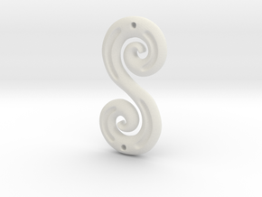 DoubleSpiral in White Strong & Flexible