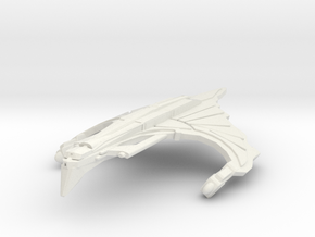 WarRock Class HvyCruiser ( Wings Down ) in White Natural Versatile Plastic