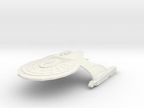 Chandley Class Refit Frigate in White Natural Versatile Plastic