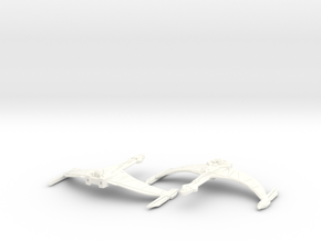 Cho'ku Class Bird Of Prey in White Processed Versatile Plastic