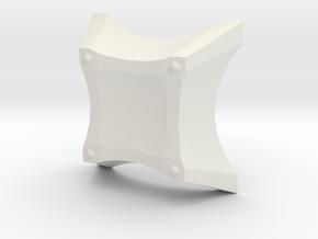 Spark Casing Bottom Final R in White Natural Versatile Plastic
