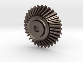 CounterShaftGear F-221-G - 1-22.5 Scale in Polished Bronzed Silver Steel