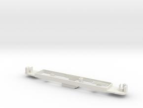 OEG Rastatter Triebwagen Bodenplatte in White Natural Versatile Plastic