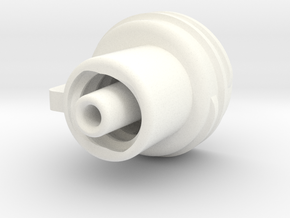 Embout GF V3 in White Processed Versatile Plastic