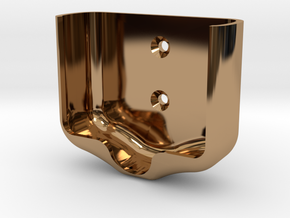 Atomic EFI Mounting Bracket in Polished Brass