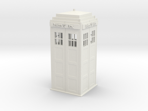 Tardis (repaired) (repaired) in White Strong & Flexible