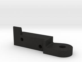 Controller desk mount Part 1 in Black Acrylic