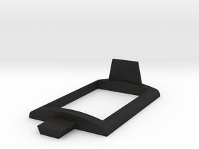 Controller desk mount Part 3 in Black Acrylic