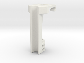Mask Mount V3 in White Natural Versatile Plastic