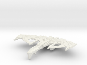 War Thorn Class Battleship in White Natural Versatile Plastic