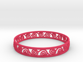 Bracelat in Pink Strong & Flexible Polished