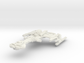 Bokor Class Battleship in White Strong & Flexible