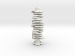 Crankshaft in White Strong & Flexible
