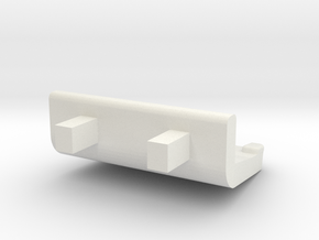 HO M7 Double Seat in White Natural Versatile Plastic