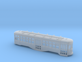 N Scale B&QT 8000-series Trolley Body in Smooth Fine Detail Plastic