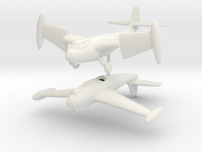1/200 Weserflug P.1003/1 (pair) in White Natural Versatile Plastic