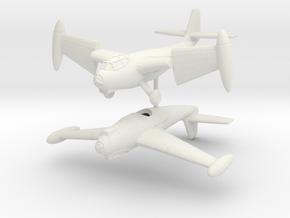 1/200 Weserflug P.1003/1 (pair) in White Natural Versatile Plastic