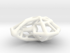Sebshell in White Processed Versatile Plastic