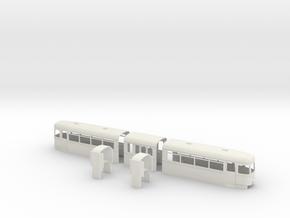 OEG Rastatt BW 221 Auslieferung kompl. Gehäusesatz in White Strong & Flexible