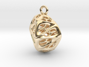 Goldmine Pendant in 14K Yellow Gold