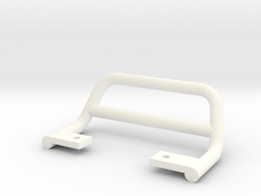 SR40001 Beach Buggy Bumper in White Strong & Flexible Polished