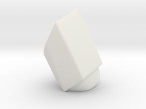 Iron Man MkIII - Pointer-mid in White Natural Versatile Plastic