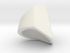 Iron Man mkIII - Pinkie-base in White Natural Versatile Plastic