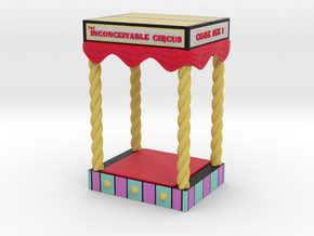 Circus Booth in Full Color Sandstone