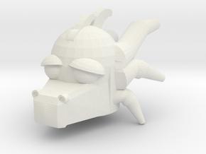 Dragon For R For Print in White Natural Versatile Plastic