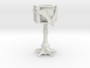 Vampire Goblet Whole in White Natural Versatile Plastic