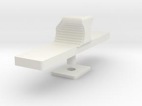 Translation Control Slider 1:1 in White Natural Versatile Plastic