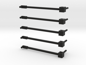 Rockin H SK header trailer dolly 5 pack in Black Natural Versatile Plastic