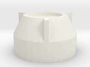 Wandre Manopola Knob in White Natural Versatile Plastic
