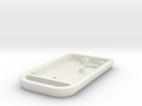 94 Supra Key Fob - Top in White Natural Versatile Plastic