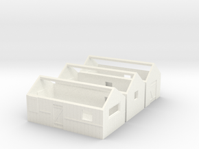 N logging - Work & Tool Sheds in White Processed Versatile Plastic