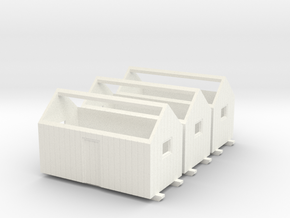 N logging - Bunkhouse (3pcs) in White Processed Versatile Plastic