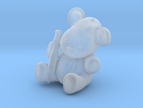 T Bear Artist in Smooth Fine Detail Plastic