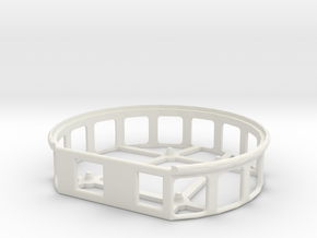 Servo Turnable V23 Case in White Natural Versatile Plastic