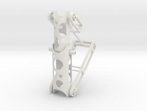 Hinge Set-2 in White Natural Versatile Plastic