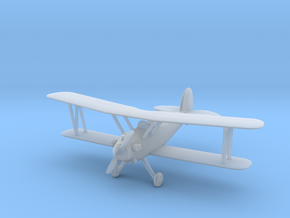Biplane Ultra - Nscale in Smooth Fine Detail Plastic