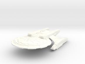 Adelphi Class GunCruiser in White Processed Versatile Plastic