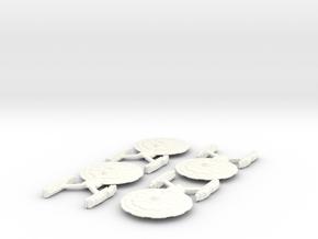 USS Jarvis in White Processed Versatile Plastic