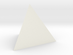 TETRAHEDRON ELEMENT Dim Conv in White Natural Versatile Plastic