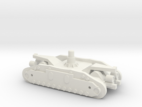 1/144 Crawler Unit without tracks in White Strong & Flexible
