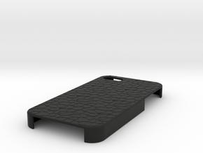 Stone IPhone 4S Case in Black Natural Versatile Plastic