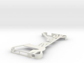 Ipod 5th Gen Minimalist Custom Case - 2nd Jase in White Natural Versatile Plastic