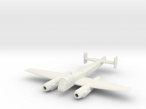 1/200 Arado Ar 240 in White Natural Versatile Plastic